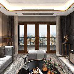 客厅-望美197系列铝包木提升推拉门